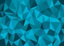 Abstracte geometrische vectorachtergrond, driehoekspatroon Stock Afbeeldingen
