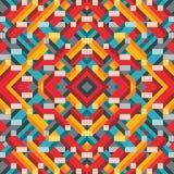 Abstracte geometrische vectorachtergrond voor presentatie, boekje, website en ander ontwerpproject Mozaïek gekleurd patroon vector illustratie