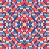 Abstracte geometrische vectorachtergrond voor presentatie, boekje, website en ander ontwerpproject Mozaïek gekleurd patroon met 3 royalty-vrije illustratie
