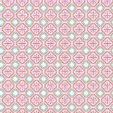 Abstracte Geometrische Vierkante van de de Stoffenillustratie van het Plaidpatroon Naadloze het Patroonachtergrond Diamond Modern Stock Illustratie