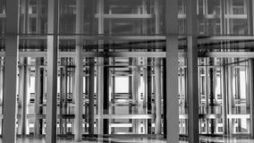 Abstracte geometrische vloeren en vormen Illustratie 3d geef terug royalty-vrije illustratie