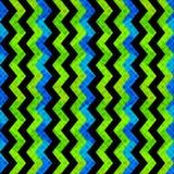 Abstracte geometrische voorwerpen op blauw achtergrond naadloos patroon grunge effect Stock Afbeeldingen