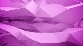 Abstracte geometrische vormen in motie vector illustratie