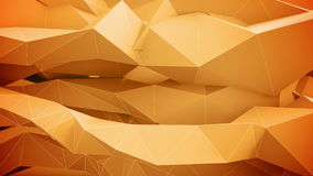 Abstracte geometrische vormen in motie stock illustratie