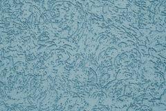 Abstracte geribbelde pastelkleurachtergrond Blauwe in reliëf gemaakte textuur Grijze geweven muurachtergrond Grijs patroon van in royalty-vrije stock foto's