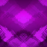 Abstracte geruite verzadigde violette achtergrond Stock Afbeelding