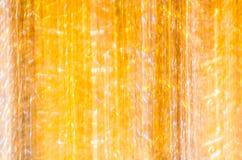 Abstracte gestreepte gele en oranje achtergrond Stock Foto's