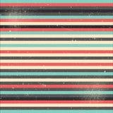 Abstracte gestreepte vectorachtergrond Stock Afbeeldingen