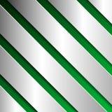 Abstracte geweven achtergrond met metaalplaten in groen Stock Foto's