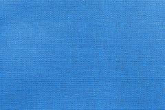 Abstracte geweven achtergrond van blauwe kleur Royalty-vrije Stock Foto