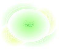Abstracte geweven ballen als achtergrond Vector illustratie Ruimte voor tekst Royalty-vrije Stock Foto's