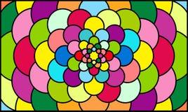 Abstracte geweven fractals royalty-vrije illustratie