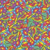Abstracte geweven fractals Royalty-vrije Stock Afbeelding