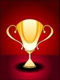 Abstracte glanzende trofee Royalty-vrije Stock Afbeelding