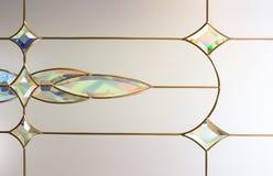 Abstracte glasachtergrond Stock Fotografie