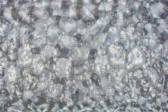 Abstracte glasachtergrond Gevormd glas Royalty-vrije Stock Foto's