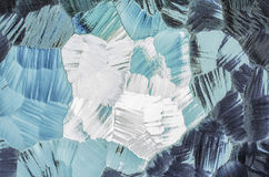 Abstracte glasachtergrond Gevormd glas Stock Afbeelding