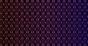 Abstracte gloeiende geometrische achtergrond Stock Foto's