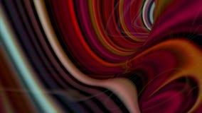Abstracte gloeiende stroken stock video