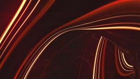 Abstracte gloeiende stroken stock videobeelden