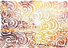 Abstracte golfachtergrond vector illustratie