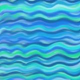 Abstracte golven royalty-vrije illustratie
