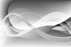 Abstracte golven, gebogen lijnen, achtergrond royalty-vrije illustratie