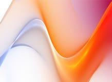 Abstracte golvende illustratieachtergrond Royalty-vrije Stock Afbeeldingen