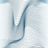 Abstracte golvende naadloze lijnen Royalty-vrije Stock Foto