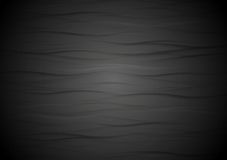 Abstracte golvende zwarte textuurachtergrond Royalty-vrije Stock Foto