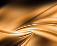 Abstracte gouden achtergrond Stock Foto's