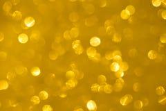 Abstracte gouden bokehtextuur Royalty-vrije Stock Fotografie