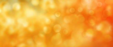 Abstracte gouden de herfst bokeh achtergrond royalty-vrije stock foto's