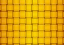 Abstracte gouden geruite achtergrond royalty-vrije illustratie