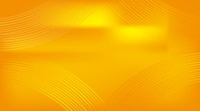 Abstracte gouden krommeachtergrond Stock Fotografie