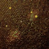 Abstracte gouden mozaïekachtergrond. vector illustratie