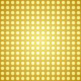 Abstracte gouden mozaïekachtergrond Stock Afbeelding