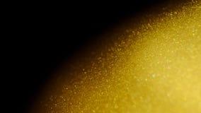 Abstracte gouden planeet 4K stock video