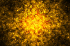 Abstracte gouden ster lichte achtergrond Stock Afbeeldingen
