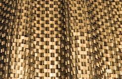 Abstracte gouden textuur als achtergrond Royalty-vrije Stock Foto's