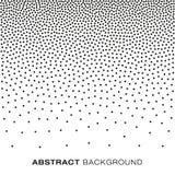 Abstracte Gradiënt Halftone Dots Background Stock Fotografie