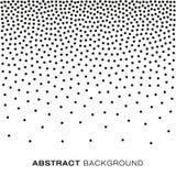 Abstracte Gradiënt Halftone Dots Background Royalty-vrije Stock Afbeeldingen