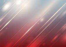 Abstracte gradiëntachtergrond met verlichting stock illustratie