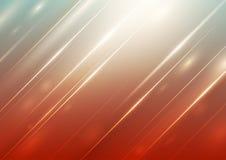 Abstracte gradiëntachtergrond met verlichting royalty-vrije illustratie