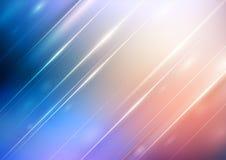 Abstracte gradiëntachtergrond met verlichting vector illustratie
