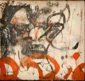 Abstracte graffiti Stock Foto's