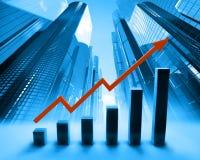 Abstracte grafiek Royalty-vrije Stock Afbeelding