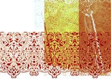 Abstracte grafische achtergrond Royalty-vrije Stock Afbeeldingen