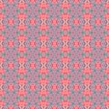 Abstracte grafische bloemen geweven achtergrond Stock Foto
