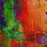 Abstracte grafische de textuurachtergrond van de kunst Royalty-vrije Stock Afbeelding